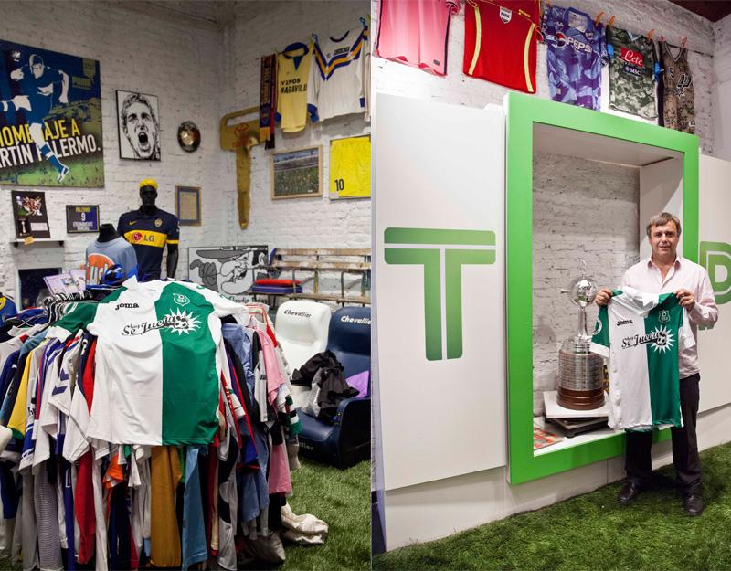 Se reinaguró el museo del marketing deportivo encabezado por Claudio Destéfano. HoySeJuega estuvo ahí y te cuenta las historias de este baúl de tesoros que todos quisieramos tener.