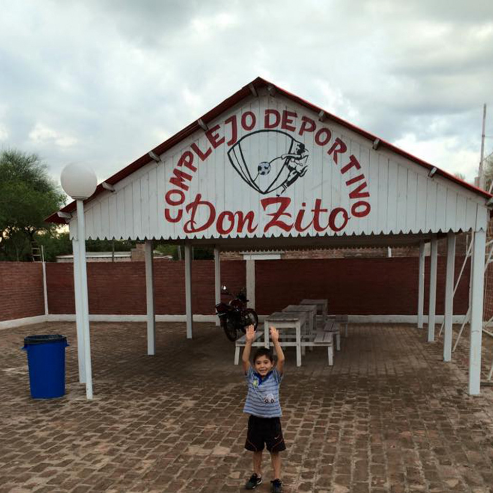El complejo Deportivo Don Zito se encuentra en Miraflores, Chaco, y fue el primero de la Ciudad. Conocelo en esta nota.