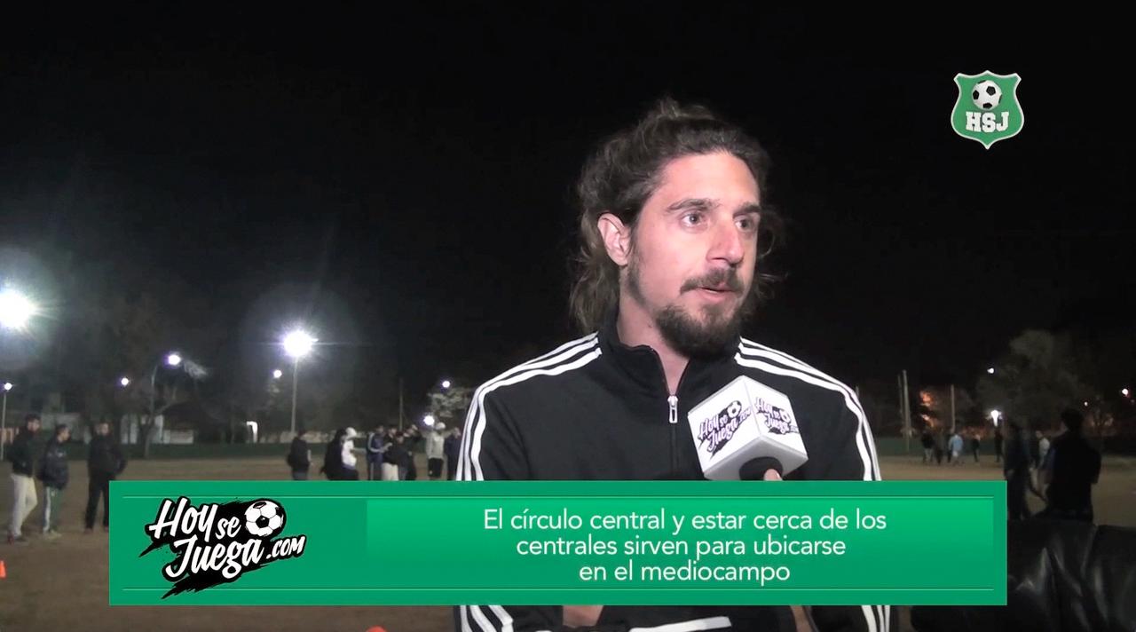 El mediocampista central que militó en varios equipos del fútbol Argentino (Chacarita, Huracán, Racing, entre otros) deja consejos para nuestros seguidores. No te pierdas el video.