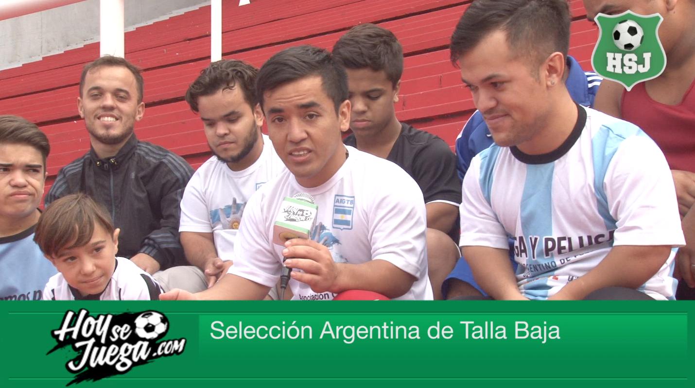 Conocemos a la Selección Argentina de Talla Baja