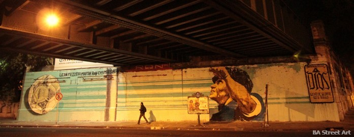 <p><strong>El mural más grande del más grande.</strong></p>
