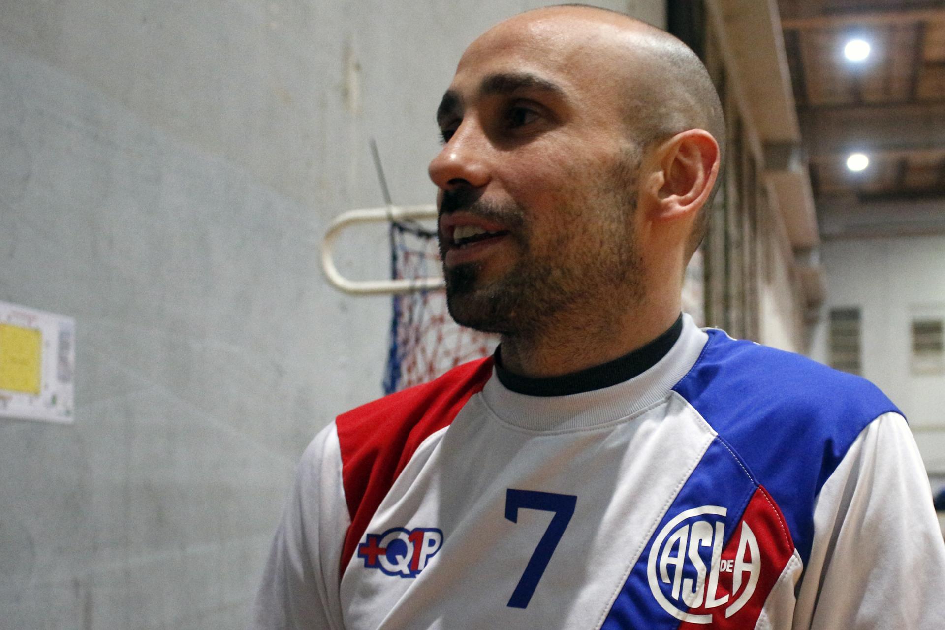 """<p class=""""p1"""">Damian Stazzone, líbero campeón del mundo con la Selección de Futsal y capitán de San Lorenzo habló con Hoy se Juega sobre la actualidad del Ciclón antes del inicio del torneo y el crecimiento de la Liga Nacional. Además, nos contó sobre los próximos compromisos del equipo nacional.</p>"""
